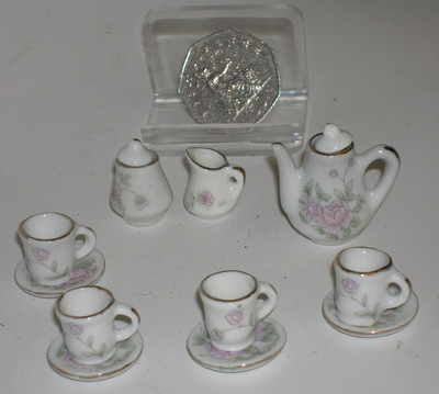 Mini coffee set