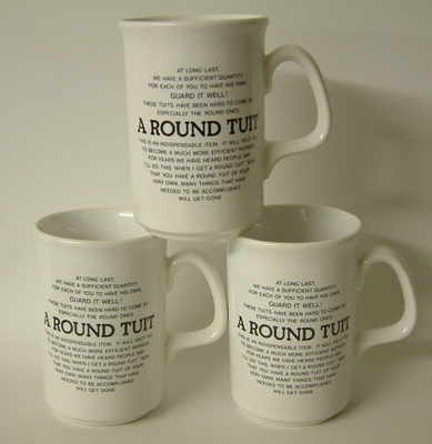 FC008                       Pottery mug or FC001/A Lyric - Round Tuit verse