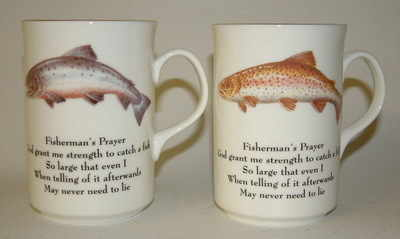 FC001/A Lyric beaker - Fisherman's prayer - trout & salmon
