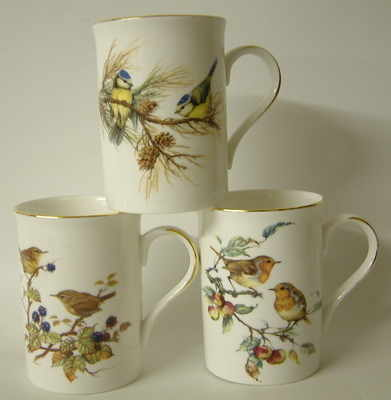 FC001/A  Lyric beaker - Highland birds