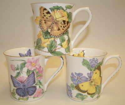 FC003 Balmoral beaker -  Butterflies