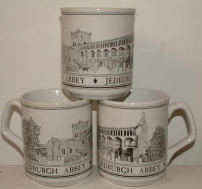 FC001/A Lyric beaker - Jedburgh Abbey