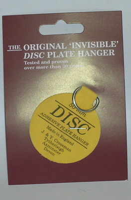 JC102 Self adhesive plate discs - 2