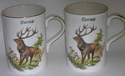 Lyric beaker - Red deer stag - standing