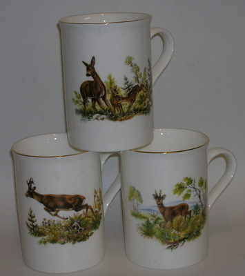Lyric beaker -  Roe deer - 3 assorted designs