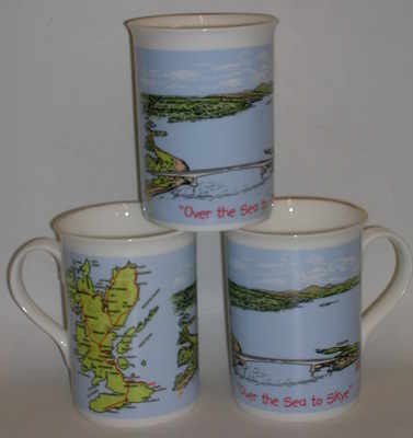 FC001/A Lyric beaker - Over the Sea to Skye