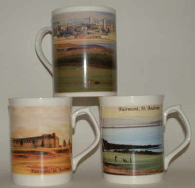 FC001/A Lyric beaker  -  'Fairmont Golf Course, St. Andrews'