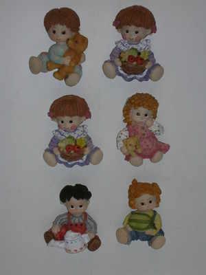 magnet - Ragdoll figures