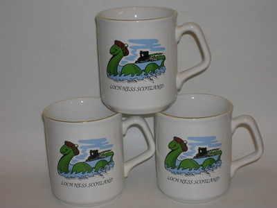 Pottery mug -Nessie