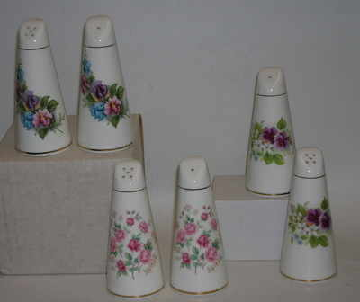BC0226 Tall salt & pepper set