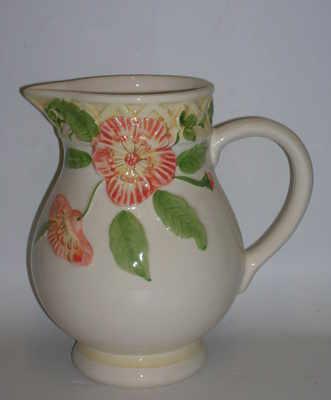 SB766  Ibiscus jug