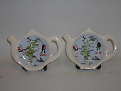 FC024 Tea-bag rest - Shetland Isles map