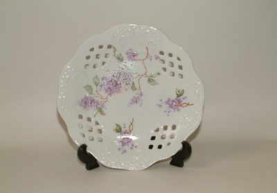 FC060 Lattice tray - Lilac pattern