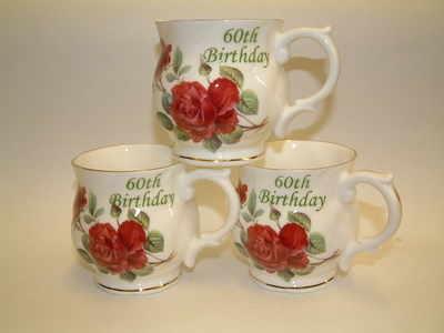 FC011 Chocolate beaker - 60th. birthday