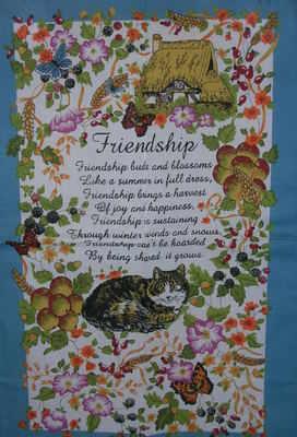 Teatowels  Friendship
