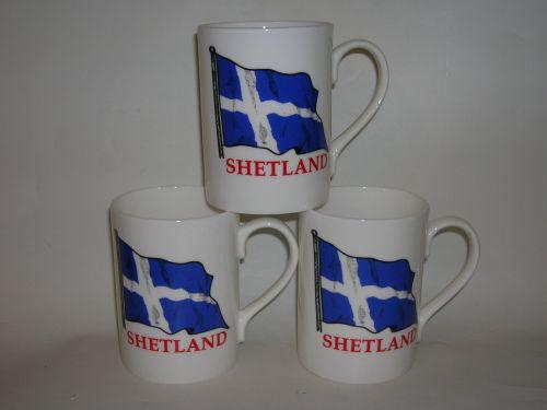 FC001/A Lyric beaker - flying Shetland flag
