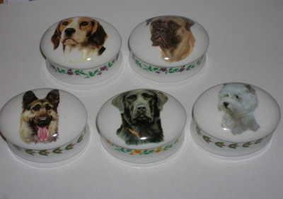 FC061/B Mini china box - Dogs
