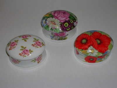 FC0344/C Mini china box - Floral