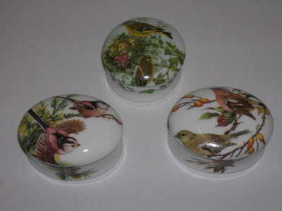 FC061 Mini china box - birds