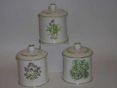 BC0384 Spice jar Herbs