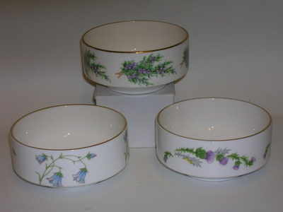 AA2020 bon dish - thistle, heather, harebell designs