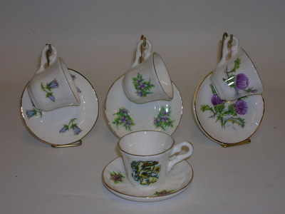 BC0079 Mini cup & saucer + stand