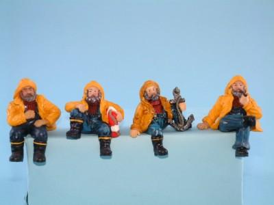 11107 Small fishermen on shelf edge