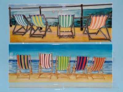 12160 Deck chairs