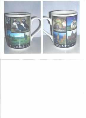 FC001/A Lyric beaker - Orkney multi image