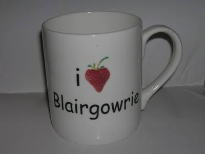 FC003 beaker - I (Strawberry heart) + Townname