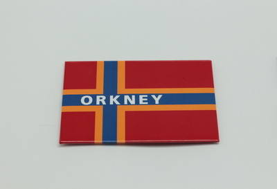 KB0015 Metal Orkney Flag magnet