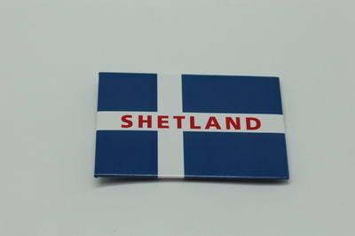 KB0016 Shetland Flag metal magnet