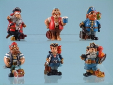 11140 Comical Pirates - 6 assorted 12 to a box