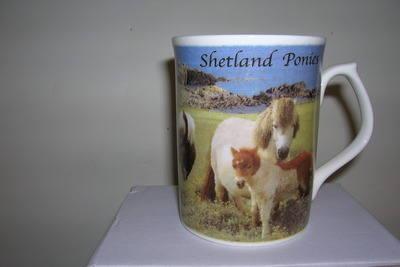 FC004 Topaz beaker - Shetland ponies