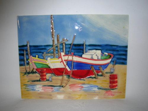12155 B/ Beached boats