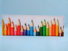 19065 Canvas print - crayons