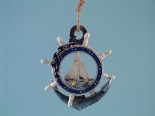 11173 Yacht anchor hanger - 14cm