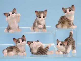 10239 Tabby kittens - 5cm