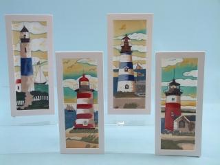 15300 Lighthouse scenes ceramic plaque
