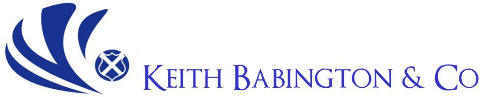 Keith Babington & Co, site logo.