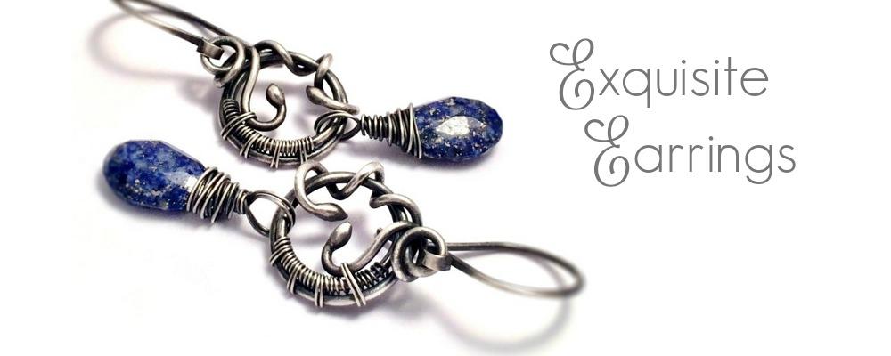 slideshow - exqusite earrings