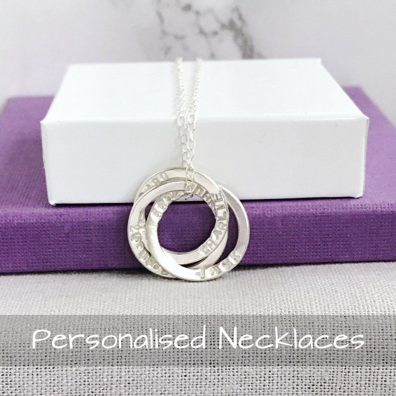 Personalised Handstamped Necklaces | Handmade Jewellery UK