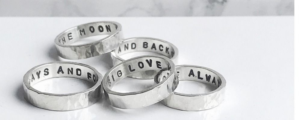 Personalised Secret Message Rings