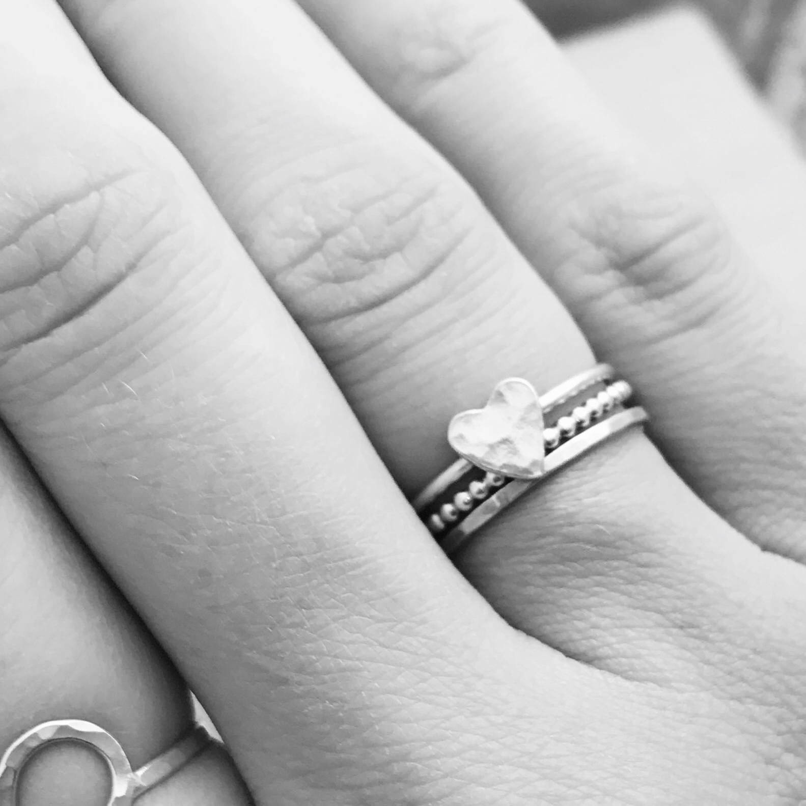 Sterling Silver Rings | Kim Ryan Jewellery Handmade in the UK