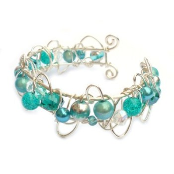 Small Cuff Bracelet - Turquoise