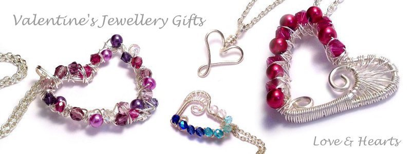 Valentine's Jewellery Gifts - Kian Designs Handmade Jewellery