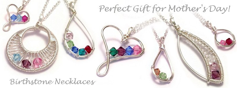 Family Birthstone Necklaces - Handmade Birthstone Jewellery - Mother's Day Gifts