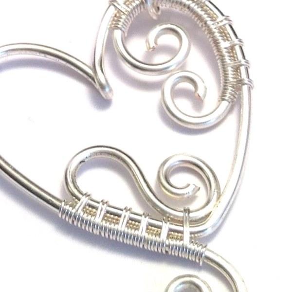 Wire Heart Pendant – Craftbnb