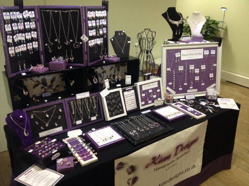 kian designs handmade jewellery at barton grange jewellery fair nov 2013