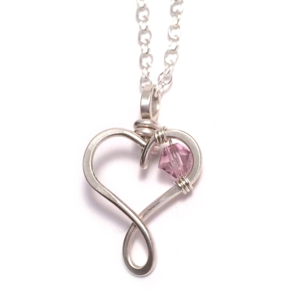 fremada rhodium pendant plated heart silver shipping jewelry on cubic watches overstock over birthstone june necklace free orders product zirconia